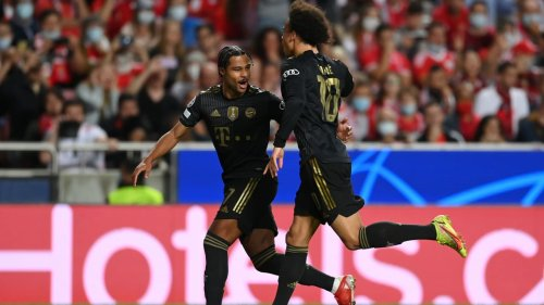 Ohne Nagelsmann! Bayern nehmen Benfica auseinander