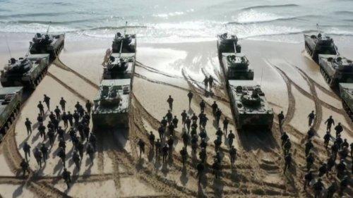 So probt China die  Invasion von Taiwan