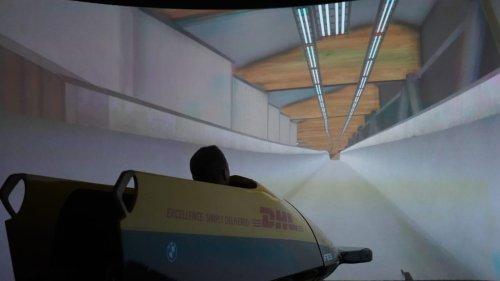 Gold-Simulator für  unsere Bobfahrer