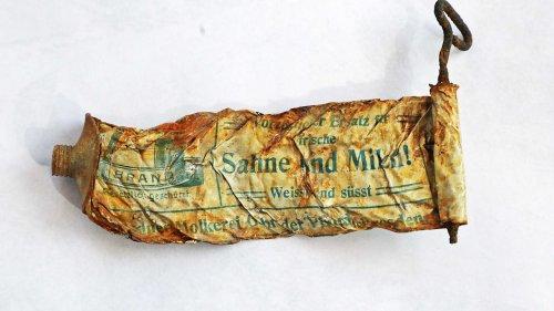 120 Jahre alte Tube auf auf Ösi-Gletscher entdeckt