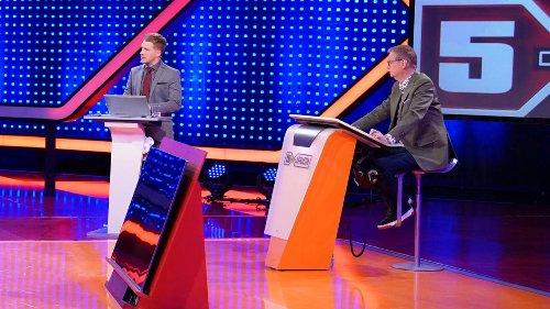 So sportlich war Günther Jauchs TV-Comeback