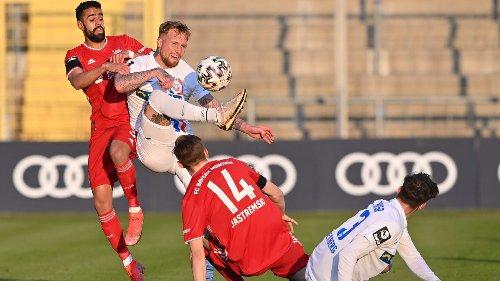 Hansa arbeitet sich  in die 2. Liga