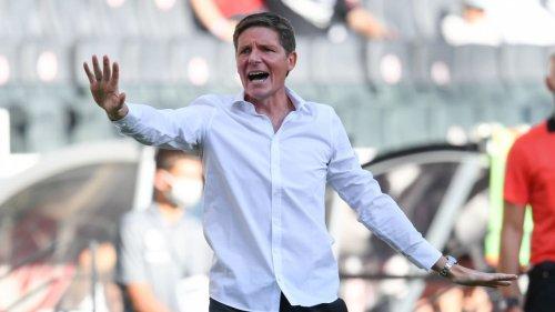 Eintracht-Trainer Glasner geht auf Remis-Rumpler los