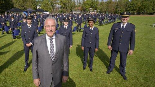 Wir sind Bayerns  neue Polizisten