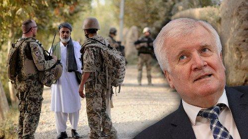 Seehofer will weiter nach Afghanistan abschieben