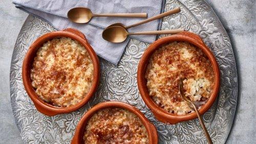 Türkischer Ofenmilchreis: Unser Rezept für Firina Sütlac