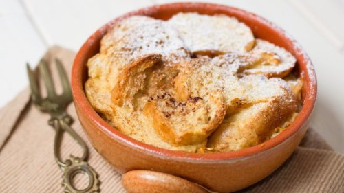 Super saftiger Apfel-Scheiterhaufen – heiß aus dem Ofen!