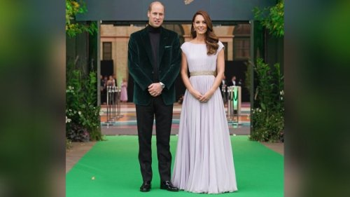 William und Kate mit stylischem Auftritt beim Earthshot Prize