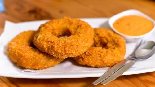 Knusprige Kartoffel-Donuts gefüllt mit Mozzarella
