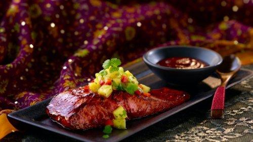 Zarter Lachs mit Sauerkirsch-Glasur: Einfach sensationell!