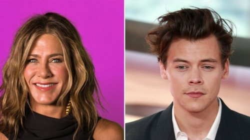 Jennifer Aniston und Harry Styles im Partnerlook