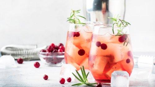 Schnelle Erfrischung: Cranberry Fizz Mocktail