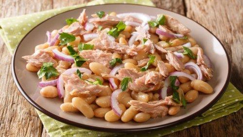 Schneller toskanischer Bohnensalat mit Thunfisch