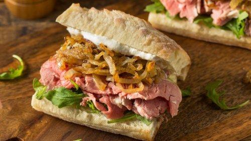 Deftiges aufs Brot: So machen Sie ein Prime Rib Sandwich