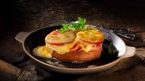 Windmühlen-Toast: Mit Schinken, Tomate und Käse
