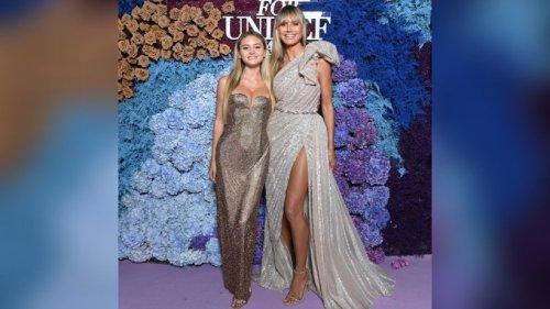 Heidi Klum: Glamouröser Auftritt mit Tochter Leni in Italien
