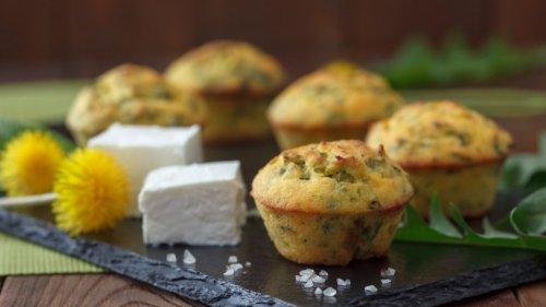 Muffins mit Feta und Spinat: Herzhaft und leicht gemacht