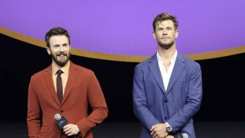 Chris Hemsworth gratuliert Chris Evans mit Foto von Chris Pratt