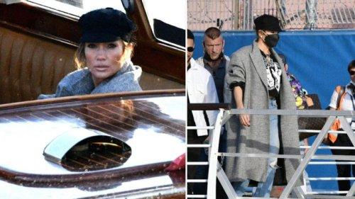 Jennifer Lopez begrüßt den Herbst mit Bakerboy Cap