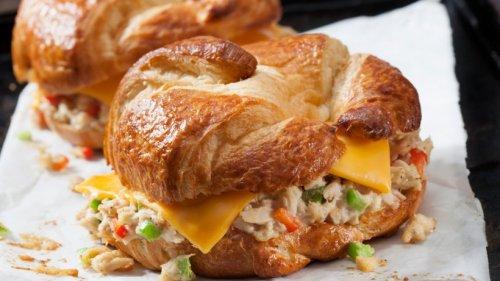 So verführerisch: Gefüllte Croissants mit Thunfisch & Käse
