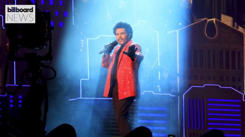 The Weeknd Brings Rainy 'Save Your Tears' to 2021 Brit Awards