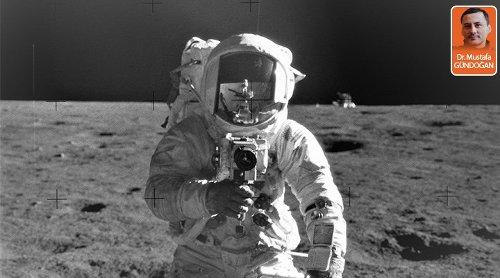 Ay'da çekilmiş fotoğraflar ve kameralarının hikâyesi