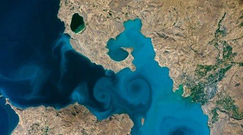 NASA'nın fotoğraf yarışmasını Van Gölü kazandı