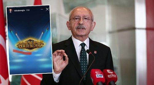 Kılıçdaroğlu'ndan Instagram'da '128 milyar dolar nerede?' yarışması