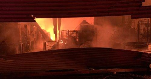 Updates - 70 firefighters attending blaze in Birmingham city centre