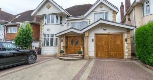 Birmingham house on sale with own entertainment suite in garden