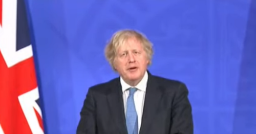 Boris Johnson issues Sunday night warning hours before Covid restrictions end