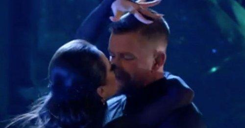 Secret Strictly mic shows Adam Peaty and Katya Jones' breathless remarks