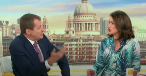 Alastair Campbell snaps at 'defensive' Susanna Reid in heated row on GMB