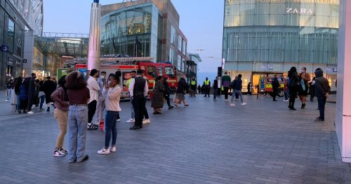Live: Bullring shopping centre evacuated in Birmingham