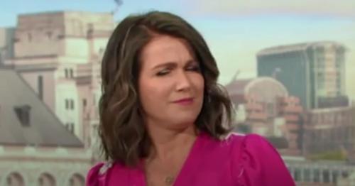 Susanna Reid snaps at 'insulting' John Bercow jibe in awkward GMB spat