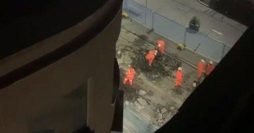 Metro apology over 'earthquake' Corporation Street tram works