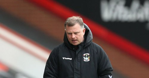 Sky Blues boss annoyed as training work goes out of window