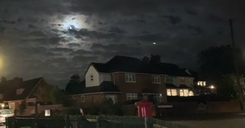 Resident's shock at 'UFO' spotted in photograph taken near popular beauty spot