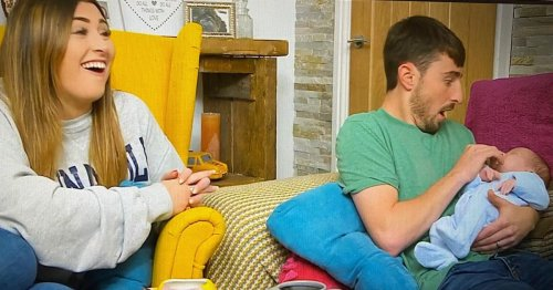 Gogglebox's Pete Sandiford thrills fans as his baby son appears on show