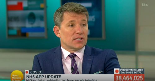 ITV Good Morning Britain's Ben Shephard succumbs to tears live on air