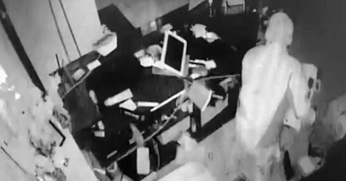 Watch BMW duo raid salon which victims say is fourth break-in in week
