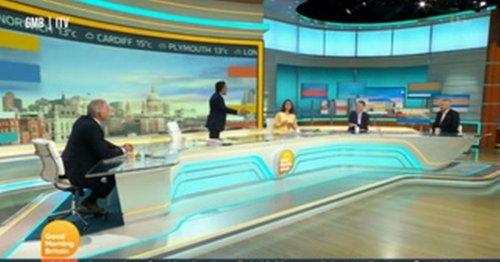 Susanna Reid refuses Adil Ray hug as GMB viewers left squirming