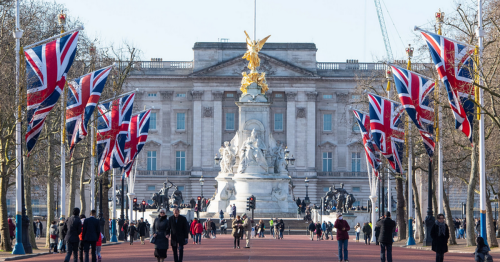 A Warwickshire MP is being held hostage in Buckingham Palace today