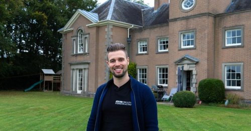 Man who lived on sister's hand-me-downs is now millionaire living in a mansion