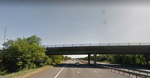 Warning over 'reckless' teenagers hurling stones from M3 bridge