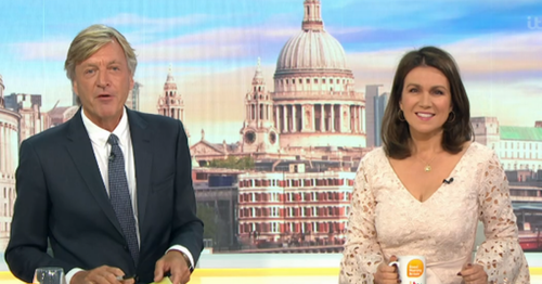Richard Madeley swamped with complaints over Africa remark on GMB