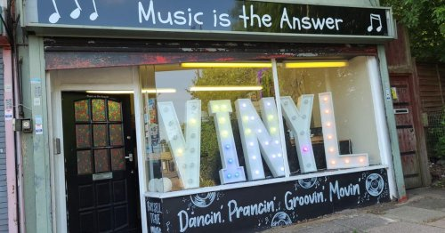 Taxi driver who quit to open record store says CAZ could be big boost