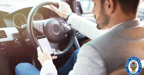 The city drivers who used their phones at the wheel - and how much it cost