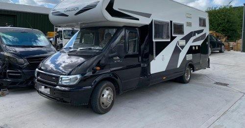 Couple left with nothing after £25k motorhome stolen, police confirm