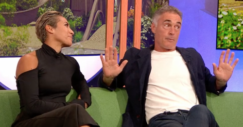 BBC Strictly Come Dancing's Karen Hauer snaps at Greg Wise on One Show